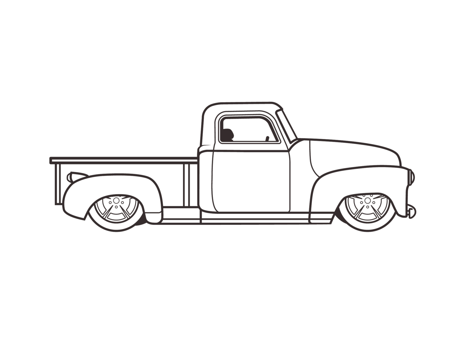 50 S Chevy Truck