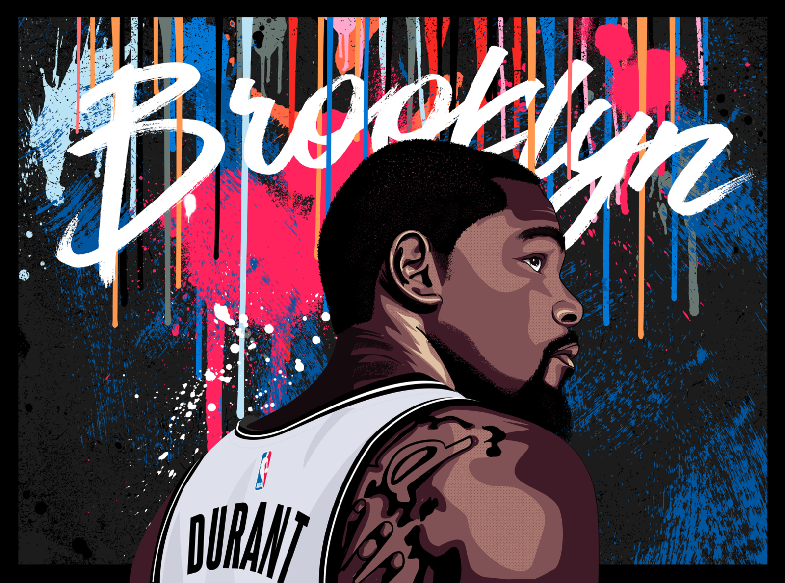 kevin durant kd brooklyn nets by nick