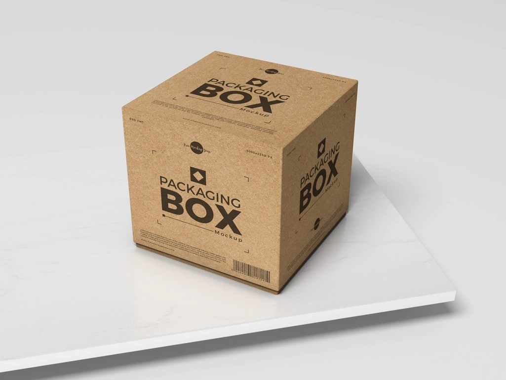 Download Free PSD Packaging Box Mockup For Presentation by Free ...