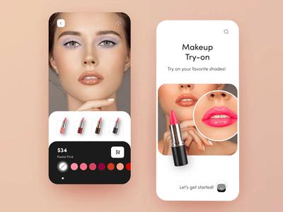 Makeup App Designs Themes Templates