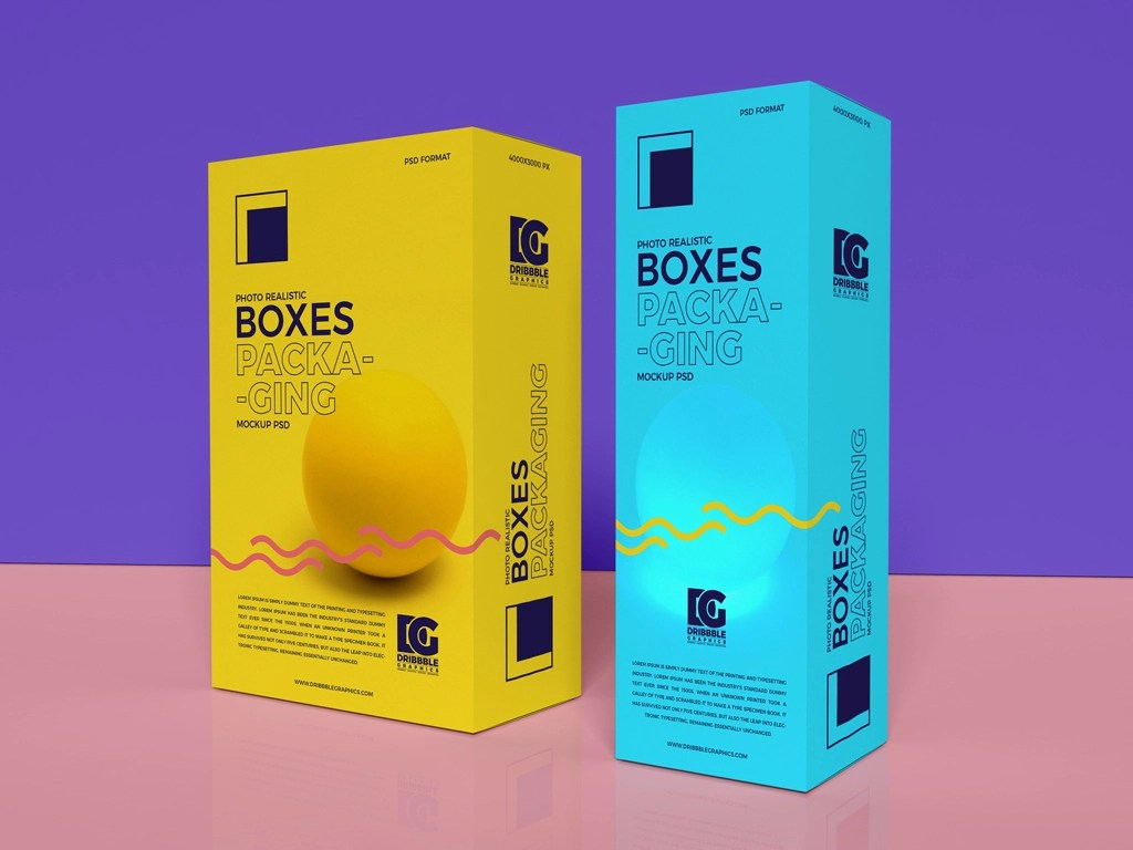 Download Free Photo Realistic Boxes Mockup Psd by Jessica Elle on ...