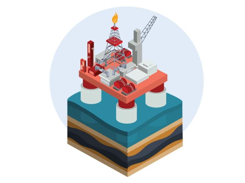 Oil Platform by Andrey Kopyrin on Dribbble