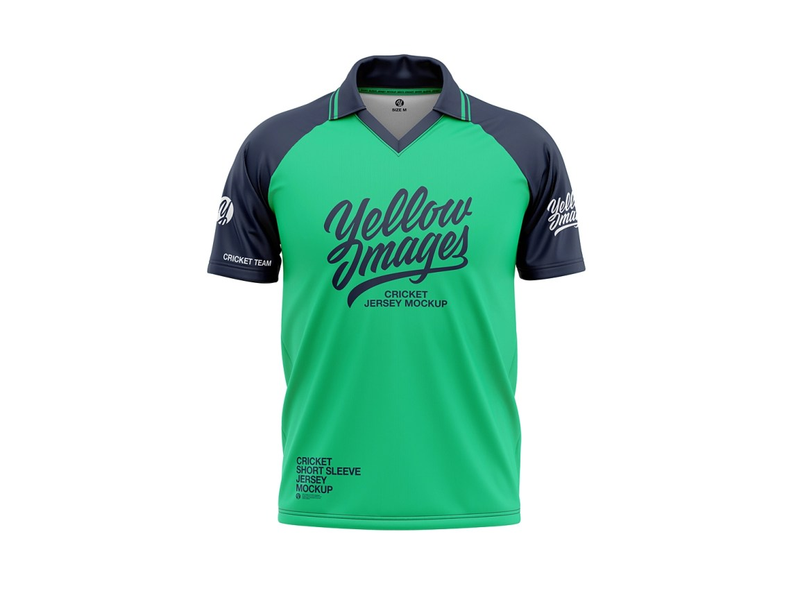 Download Cricket Jersey Mockup by CG Tailor on Dribbble