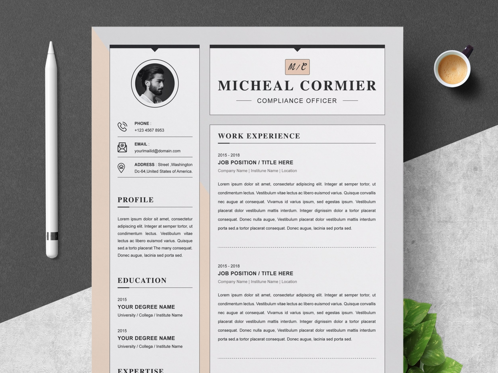 Links to all the free pages resume templates in the gallery. Word Resume Template Apple Pages Cv By Resume Templates On Dribbble