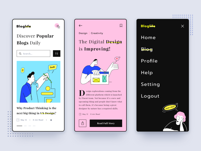 News App Designs Themes Templates And Downloadable Graphic Elements On Dribbble