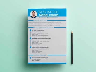 Engineering Resume Template Designs