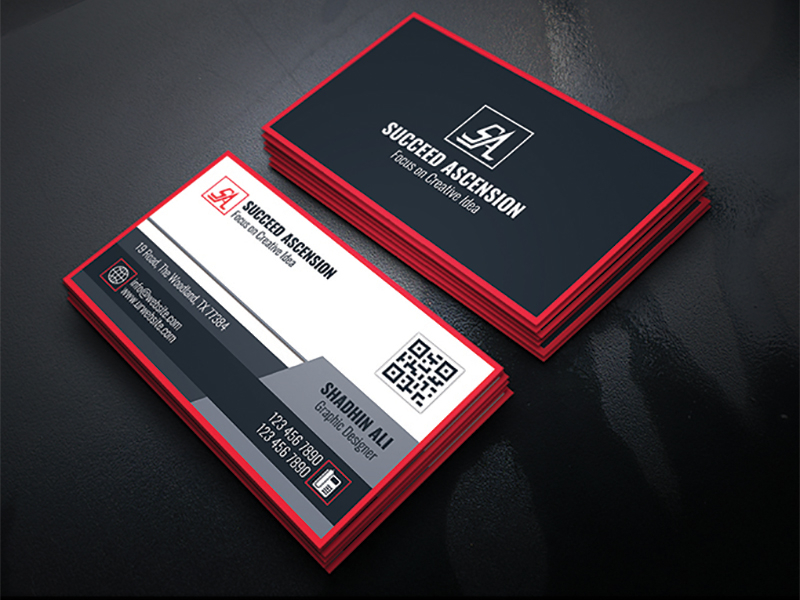 The corporate card helps separate business expenses from personal expenses. Horizontal Business Card Designs Themes Templates And Downloadable Graphic Elements On Dribbble