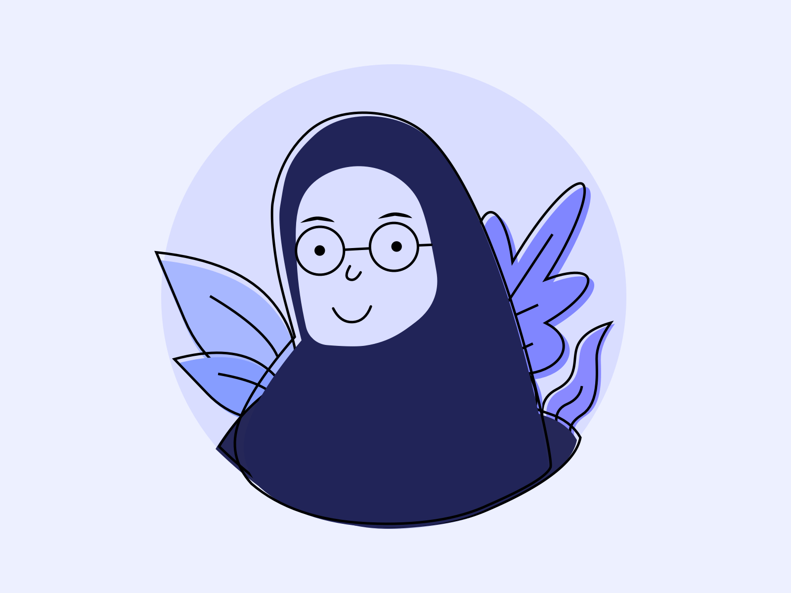Under the right circumstances, these cute animals wouldn't hesitate to kill you dead. Anime Hijab Designs Themes Templates And Downloadable Graphic Elements On Dribbble