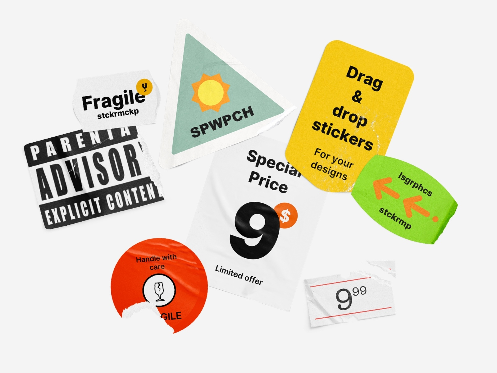 Check out this guide to create custom stickers, colorful decals and even custom vinyl decals for your car, home or business. Sticker Mockup Designs Themes Templates And Downloadable Graphic Elements On Dribbble