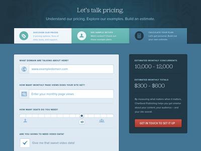 chartbeat pricing
