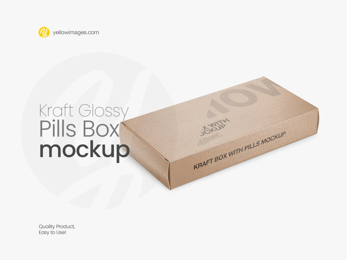Download Box Cardboard Mockup Yellow Images