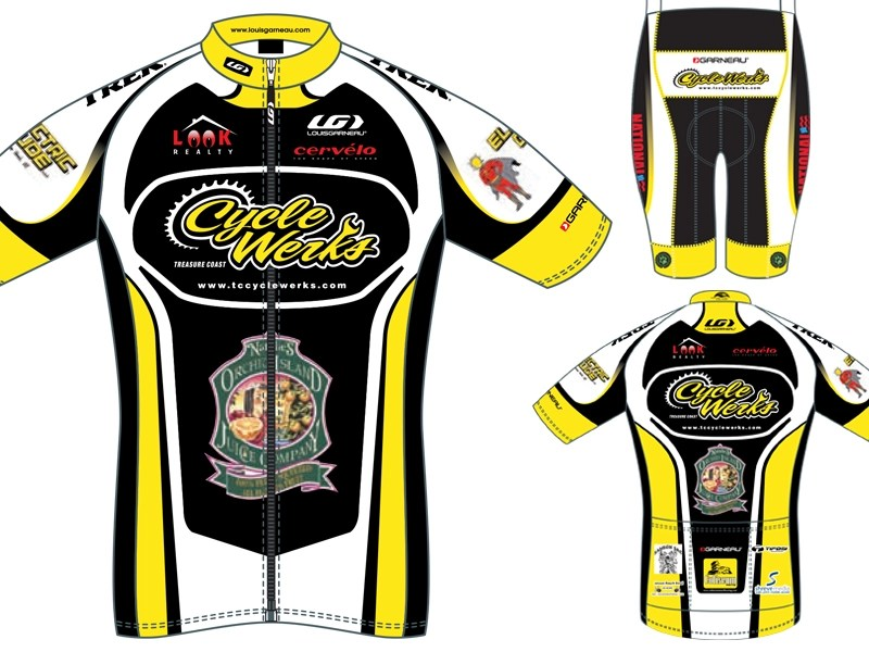 Download Cycle Werks Kit: Jersey and Shorts Mockup by Steve Shreve ...