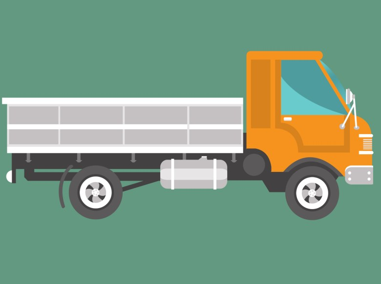 Truck Illustration by Ahilan on Dribbble