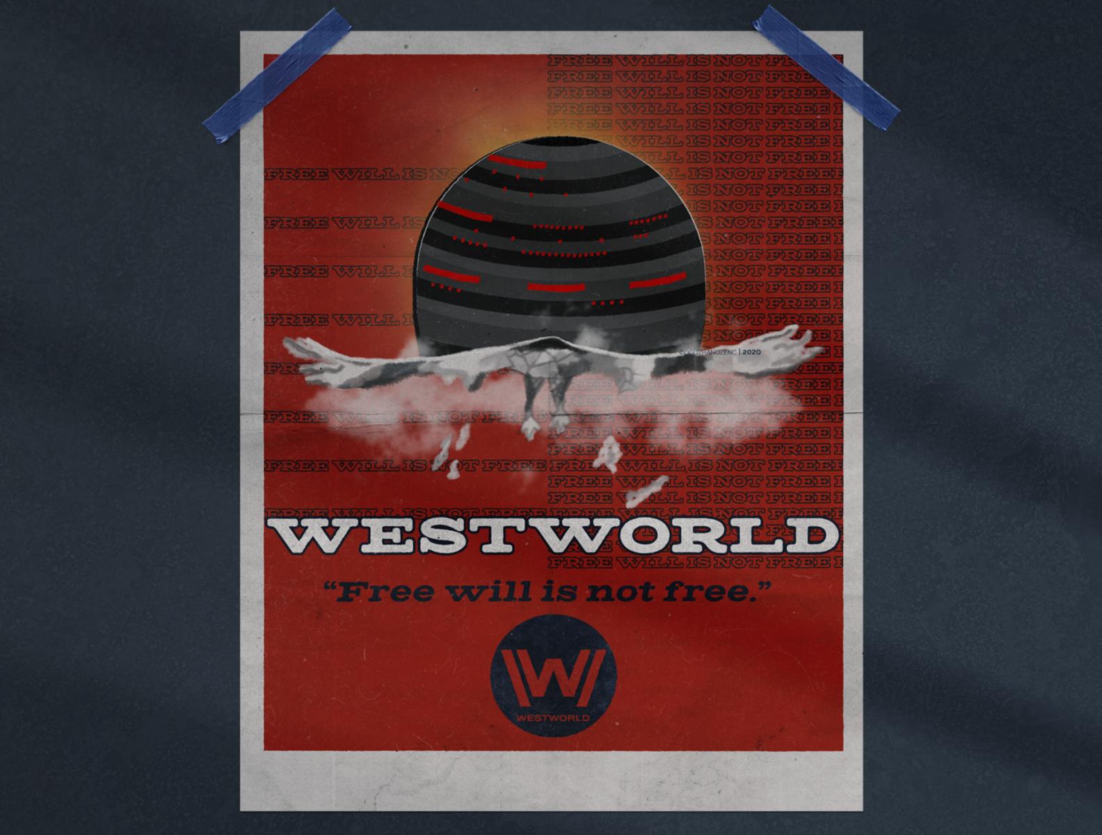 westworld season 3 poster concept
