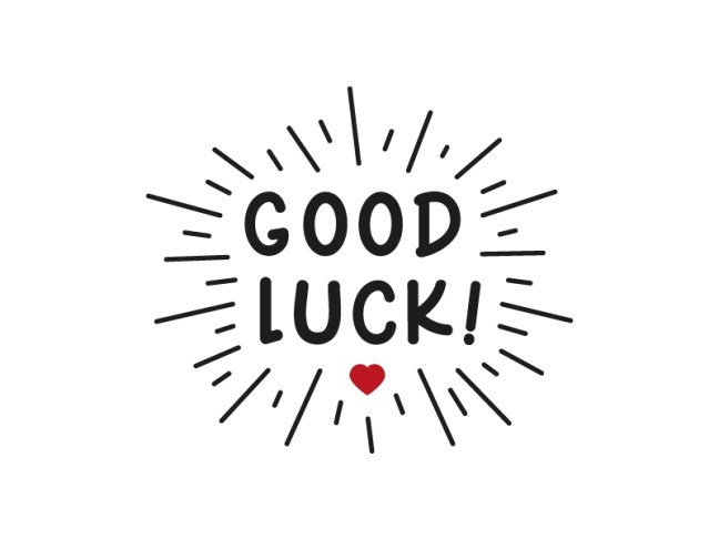 Good Luck | T-Shirt by Roberto Savino ✌🏻 on Dribbble