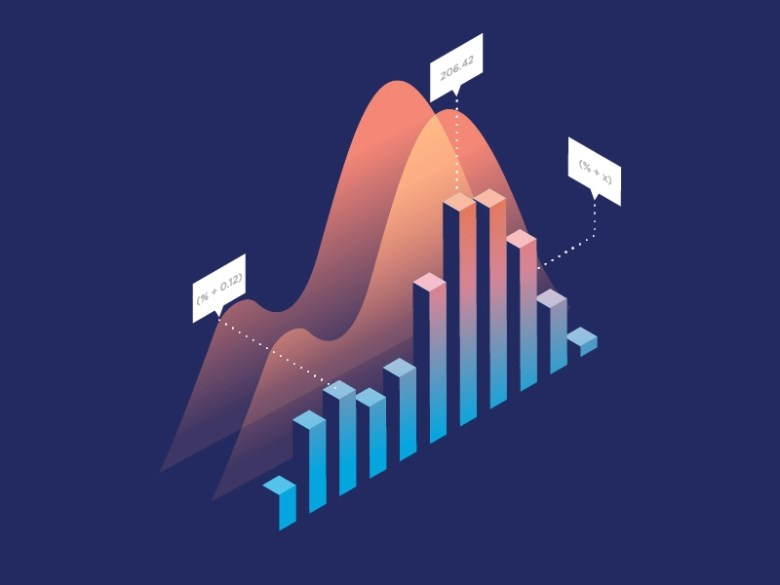 Graph Illustration by Mark Thomas on Dribbble