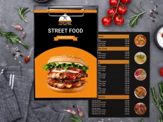 Hotel Menu designs themes templates and downloadable graphic elements on Dribbble