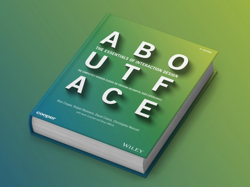 Best Books to Learn UX/UI Design - About Face: The Essentials of interaction design
