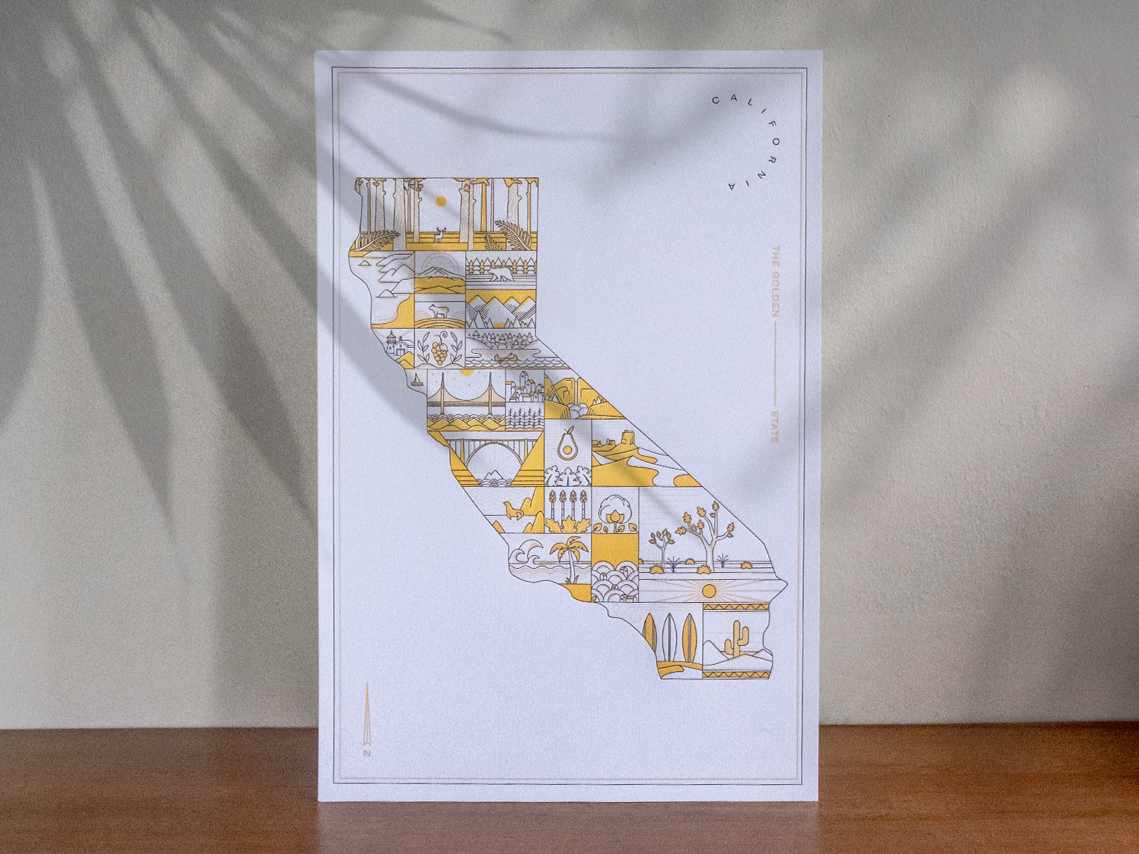 letterpress poster designs themes