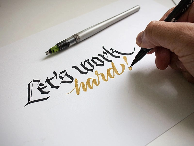 Let's work hard! (with video) by jackson alves on Dribbble