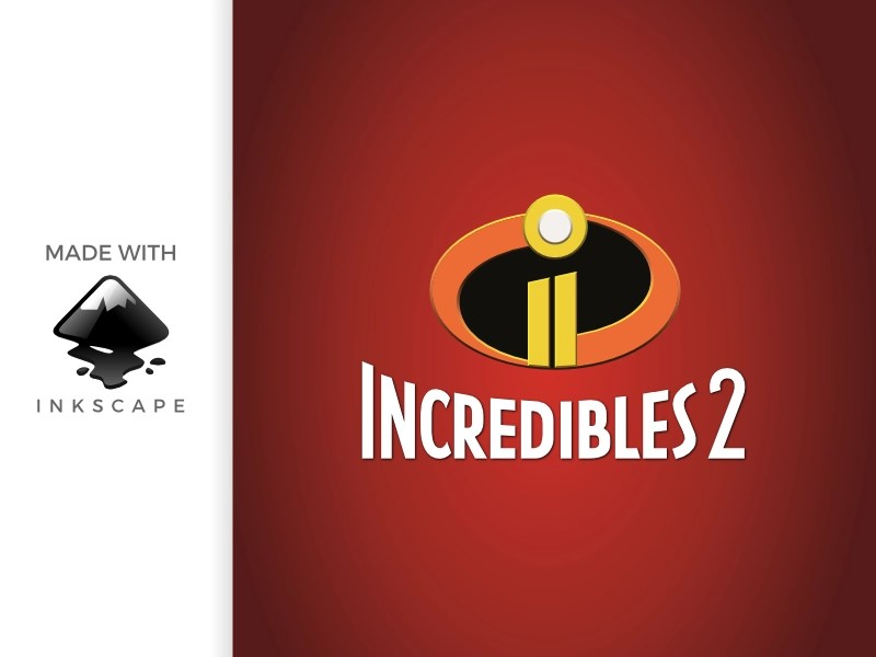 Inkscape Tutorial Making Incredibles 2 Logo By Baabullah Hasan On Dribbble