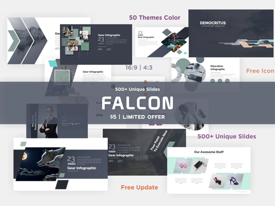 Popular Clean Powerpoint Template - 7