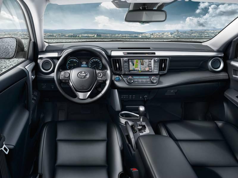 Configuratore nuova Toyota RAV4 Hybrid e listino prezzi 2018