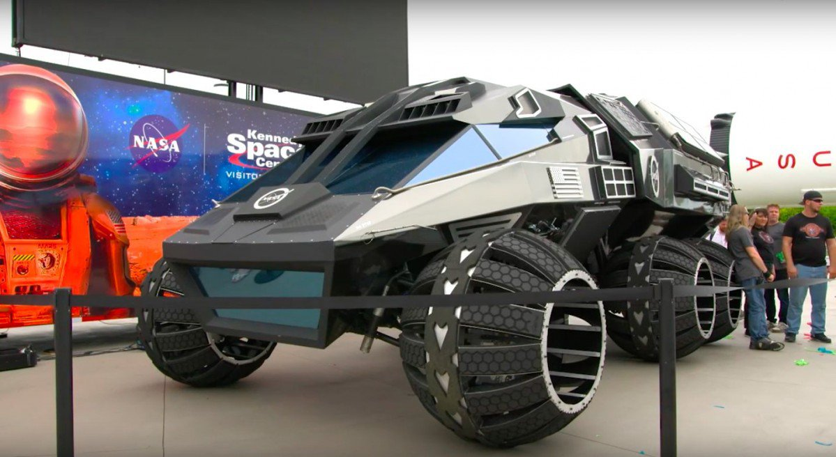 The Mars Rover Concept Vehicle Is What Batman Would Drive