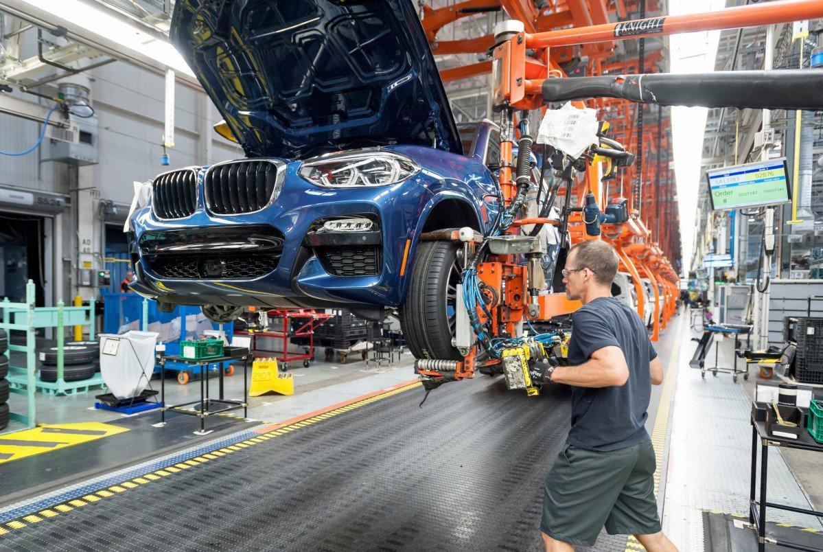 Spartanburg now largest BMW production site