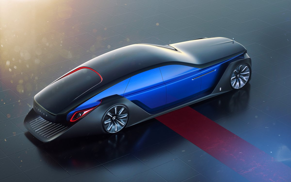 Rollsroyce Exterion Concept Can Plow Snow In Reverse