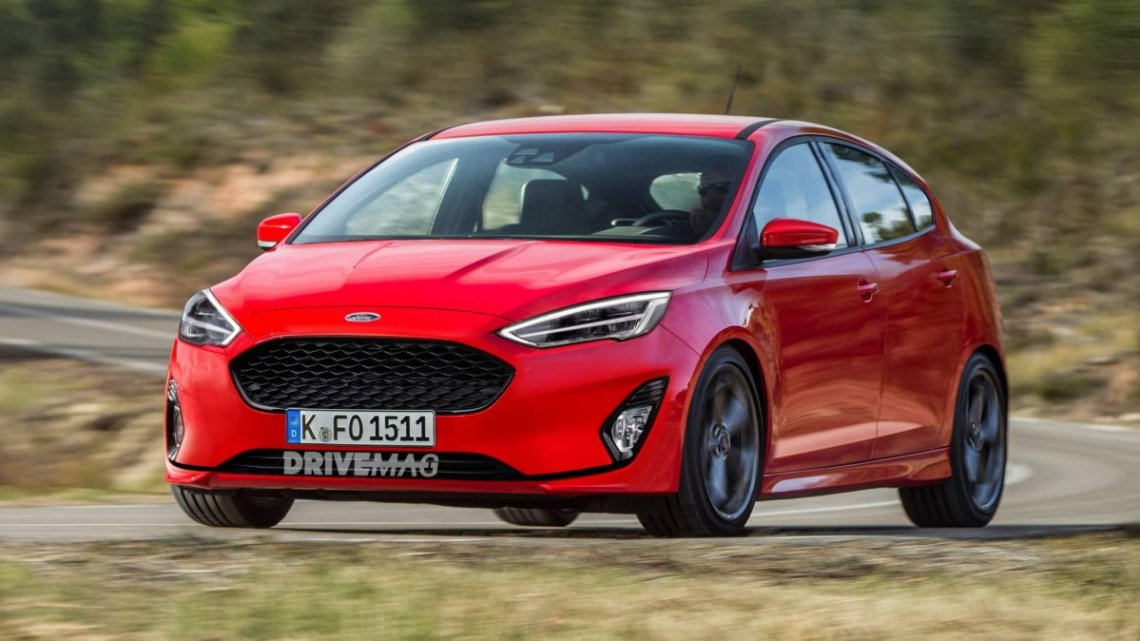 this 2019 ford focus rendering is based on the most recent set of