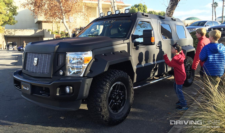 USSVs Rhino GX The 200000 Hummer Eater DrivingLine