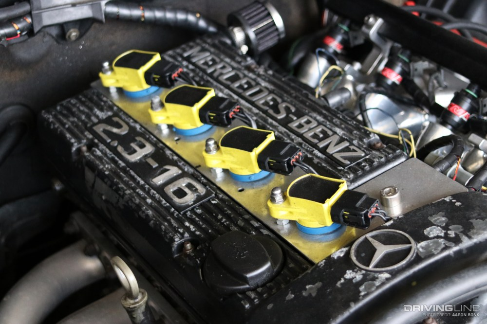 medium resolution of 190e engine part diagram