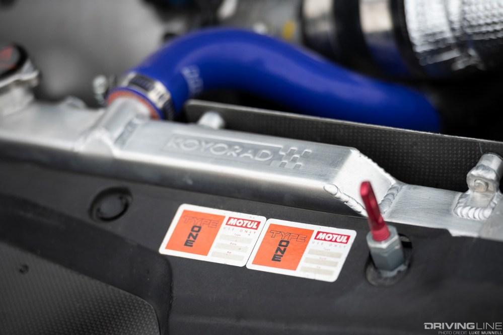 medium resolution of honda spoon accord euro r koyo radiator and motul engine bay stickers photo credit luke munnell
