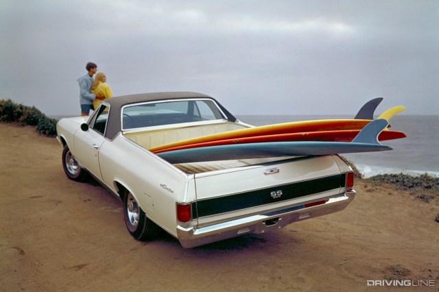 1969 Chevy El Camino SS Rear View