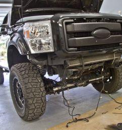 2011 ford f 250 super duty fusion bumpers winch bumper install drivingline [ 1886 x 1257 Pixel ]