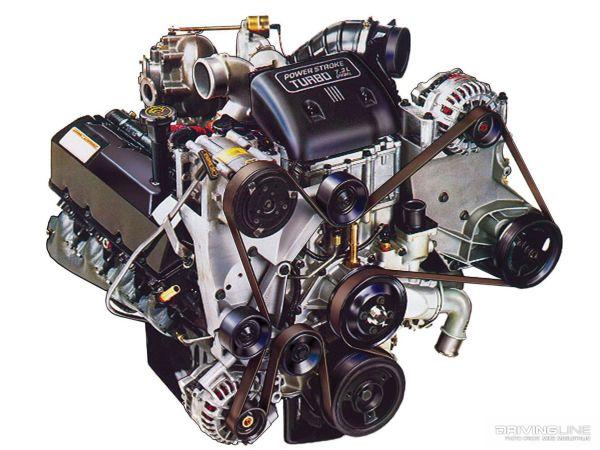 Ford 7.3 Diesel Engine