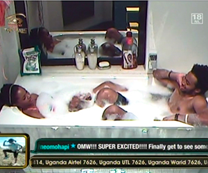 WARNING +18…. Photos of Big Brother Shower Hour