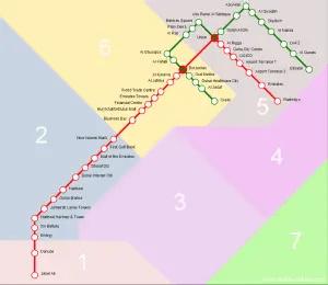 Map of Dubai - Dubai Online