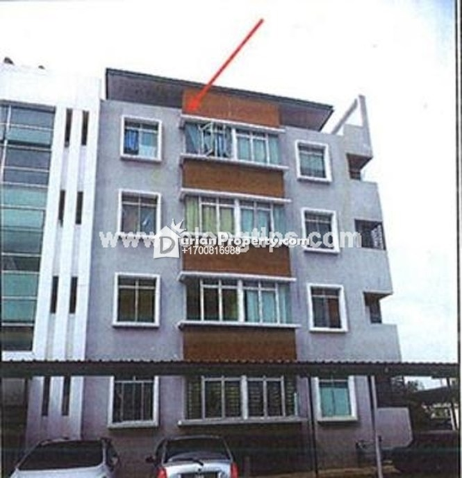 Apartment For Auction At Cyber City Apartments Kota Kinabalu