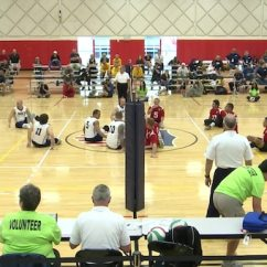 Wheelchair Volleyball Target Chairs Office Dvids Video Warrior Games 2014 Sitting Marines Vs Navy