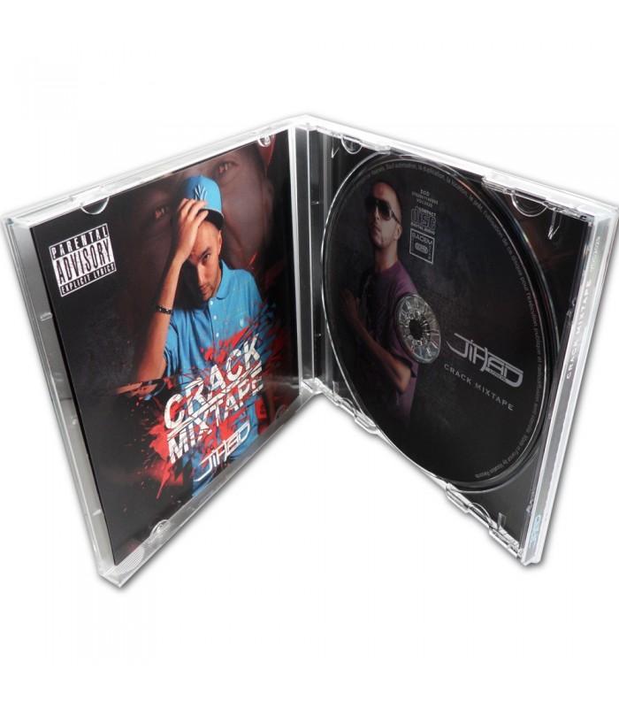 pressage de cd en boitier standard