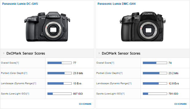Panasonic Lumix DC-GH5 sensor review: Best performer in