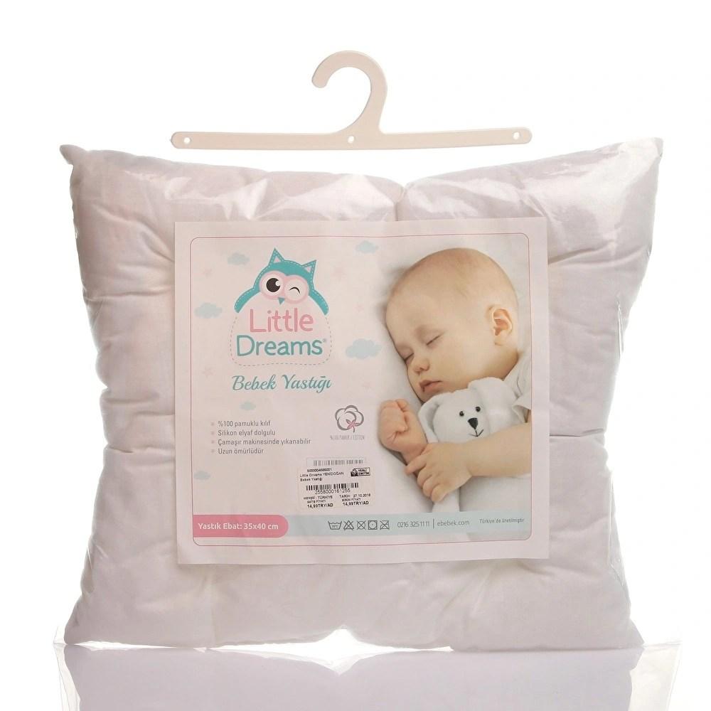 little dreams newborn baby pillow