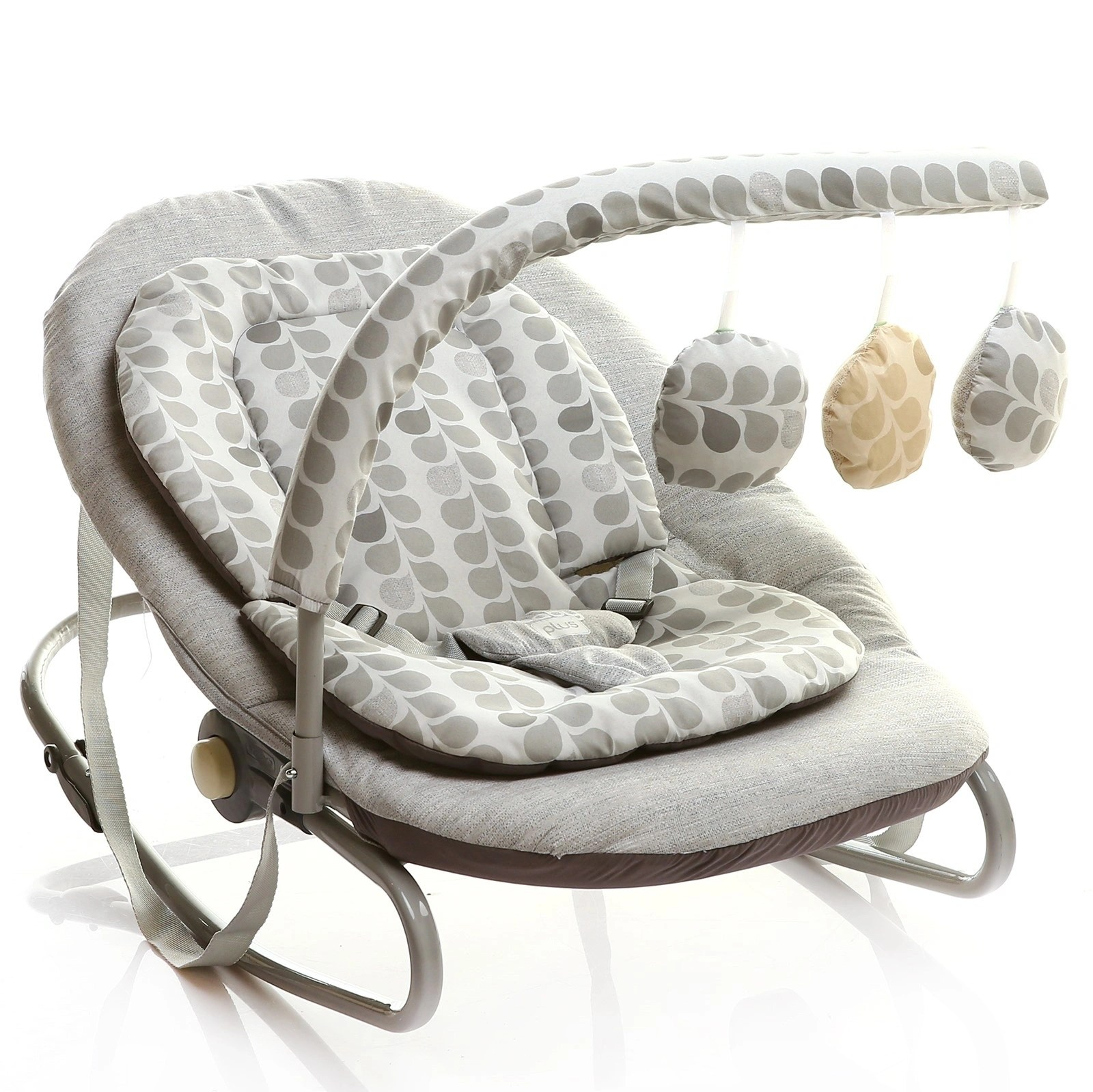 BabyPlus Lounge Baby Bouncer Chair with Toys