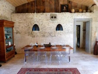 Exclusive Medieval House from 12th Century modern interior calmly situated private property Lot et Garonne