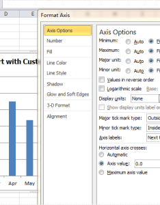 How to format axis for excel chart in  also rh  iceblue