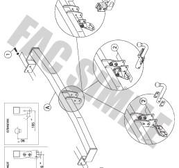 swan neck towbar 13pin c2 wiring kit for  [ 992 x 1403 Pixel ]