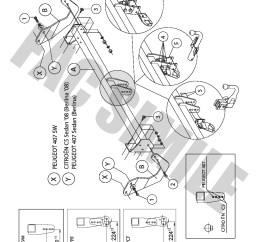 citroen c5 towbar wiring diagram [ 992 x 1403 Pixel ]