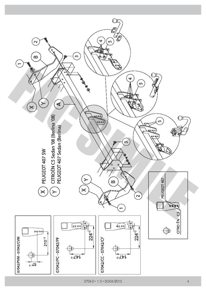 medium resolution of citroen c5 towbar wiring diagram